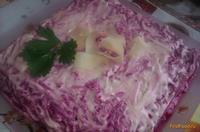 Рецепт Cеледка под шубой с сыром рецепт с фото