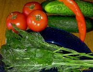 Рецепт Замороженная петрушка и укроп рецепт с фото