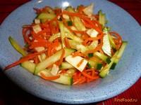 Рецепт Салат остренький с крабовым мясом рецепт с фото