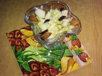 Рецепт Салат с огурцами и грушами рецепт с фото