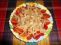 Рецепт Помидорно-луковый салат рецепт с фото