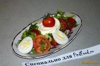 Рецепт Овощной салат с перепелиными яйцами рецепт с фото