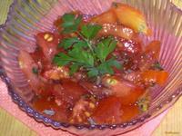 Рецепт Салат из мяты и помидоров рецепт с фото