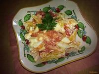 Рецепт Легкий фруктово-овощной салат рецепт с фото