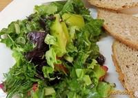 Рецепт Салат из листовой свеклы мангольд рецепт с фото