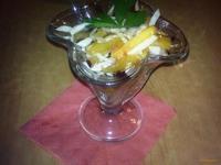 Рецепт Салат из овощей и фруктов рецепт с фото