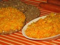 Рецепт Морковный салат с сыром и чесноком рецепт с фото