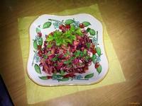 Рецепт Жареный мясной салат рецепт с фото
