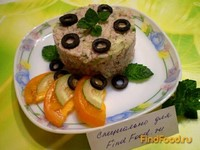 Рецепт Салат из сардины и свежего огурца рецепт с фото