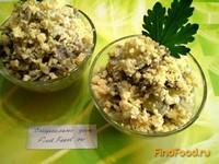 Рецепт Салат с жареными шампиньонами рецепт с фото