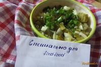 Рецепт Салат консервированные огурцы с луком рецепт с фото