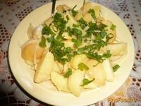 Рецепт Салат картофельный с горчичной заправкой рецепт с фото