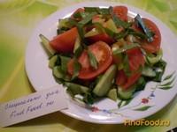 Рецепт Овощной салат со свекольной ботвой рецепт с фото