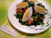 Рецепт Овощной салат с яйцом и французской горчицей рецепт с фото