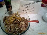 Рецепт Горячий салат из овощей гриль рецепт с фото