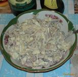 Рецепт Салат с мидиями и кальмарами рецепт с фото