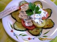 Рецепт Салат с жаренными огурцами рецепт с фото