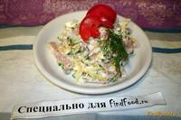 Рецепт Салат на грузинский манер рецепт с фото
