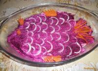 Рецепт Праздничная сельдь под шубой рецепт с фото