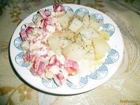 Рецепт Просто вкусный и витаминный салат рецепт с фото