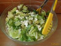 Рецепт Праздничный салат с сыром фета и оливками рецепт с фото