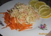 Рецепт Легкий салат с пекинской капустой рецепт с фото