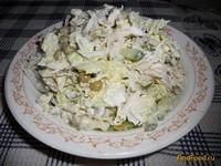 Рецепт Легкий салат с курочкой и пекинской капустой рецепт с фото