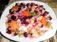 Рецепт Винегрет домашний рецепт с фото