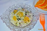 Рецепт Салат из капусты с апельсином рецепт с фото