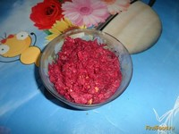 Рецепт Свекольный салат с сыром и орехами рецепт с фото