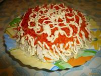Рецепт Салат из куриного мяса с морковью по-корейски рецепт с фото