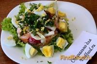 Рецепт Овощной салат с яйцом рецепт с фото