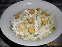 Рецепт Салат с тунцом и пекинской капустой рецепт с фото