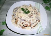 Рецепт Салат с сухариками и сыром рецепт с фото