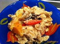 Рецепт Салат с брынзой и овощами рецепт с фото