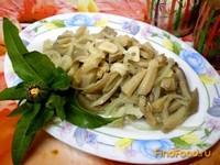 Рецепт Вешенка маринованная с луком рецепт с фото