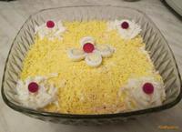 Рецепт Салат мимоза с сыром рецепт с фото