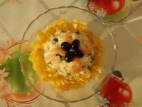 Рецепт Салат Вкусняшка рецепт с фото