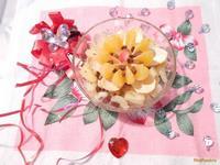 Рецепт Фруктовый салат Тропический цветок рецепт с фото