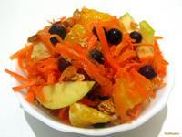 Рецепт Быстрый фруктовый салатик рецепт с фото