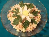 Рецепт Салат Июльская ромашка рецепт с фото