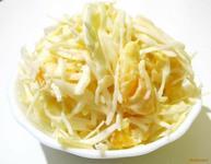 Рецепт Салат с белокочанной капусты с апельсином рецепт с фото