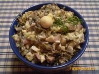 Рецепт Салат с морской капустой и перепелиными яйцами рецепт с фото