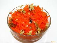 Рецепт Морковный салат с апельсином рецепт с фото