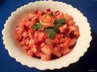 Рецепт Винегрет с яблоком и имбирём рецепт с фото