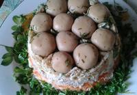 Рецепт Салат Лесная поляна рецепт с фото