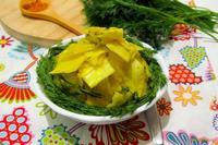 Рецепт Капуста желтая маринованная рецепт с фото