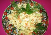 Рецепт Салат из редьки с курицей рецепт с фото