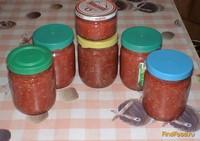 Рецепт Аджика с хреном рецепт с фото