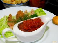 Рецепт Аджика из маринованных огурцов рецепт с фото